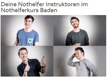 Nothelferkurs in Baden
